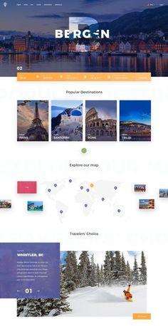 99 Inspirational Website Design Templates for 2020 Website Design Inspiration, Best Website Design, Travel Website Design, Website Design Layout, Travel Design, Web Layout, Layout Design, Layout Inspiration, Design Lab