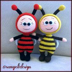 Samyelinin Örgüleri: Amigurumi Bee