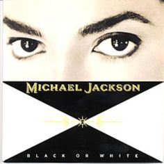 "Michael Jackson Black Or White UK 7"" Vinyl Record 6575987 Black Or White Michael Jackson 5099765759877 37970"