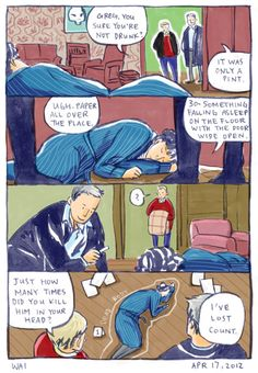 Sherlock is never safe from being taped by Lestrade