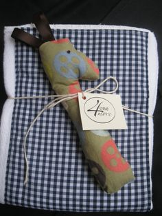 Burp Cloths and Rattle Baby Boy Gift Set. $12.00. All proceeds go towards their adoption: http://4onemore.weebly.com