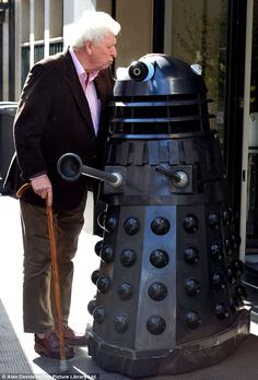 doctor who peter capaldi | Doctor Who: Tom Baker meets an old enemy at launch | Mail Online