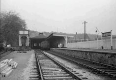 Clevedon Railway Station.