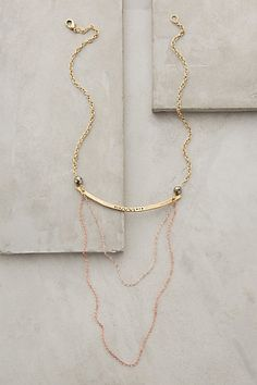 Draped Condesa Necklace - anthropologie.com #anthrofave