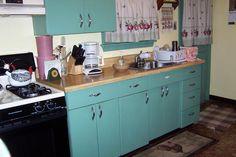 25 Best Vintage 50 S Metal Kitchen Cabinets Images In 2012
