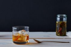 Maple-Cardamom Old Fashioned recipe: For those cool spring nights. #food52