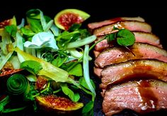 Fragrant Duck and Fig Salad