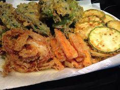 homECooking — #Tempura #Verduras #vegetables  #Dinner #Cena...