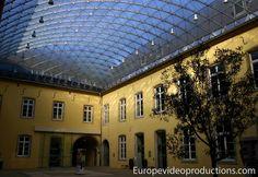 Abadía de Neumünster centro cultural en la ciudad de Luxemburgo.