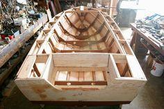 Building a Luzier 16' Outboard Skiff, designed by George Luzier, Sarasota, Florida #BoatbuildingShops