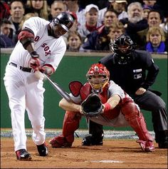 Image result for red sox 2004 world series game 1