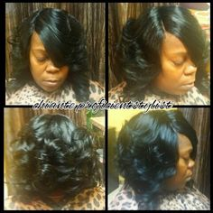 Quick weave with illusion part