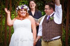 PHOTOS just in, on May I was given the honor to officiate the Wedding of Liz Dimoff and Jared Moré at the beautiful Lucy's Garden in Ridgefield, WA who were surrounded by all of their family and friends. Wedding Photos, Wedding Day, Friends, Wedding Dresses, Garden, Beautiful, Fashion, Marriage Pictures, Pi Day Wedding