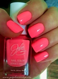 Neon pink...  one of my favorite colors! :)