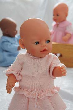 Baby born strikkeoppskrifter,