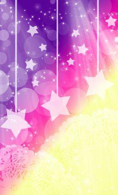 Pastel Super Stars Background by YuniNaoki.deviantart.com on @deviantART
