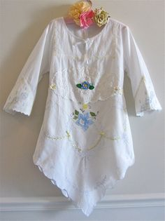 RESERVE K by IzzyRoo on Etsy - This would be a good use of my linen