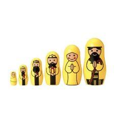 Nativity nesting dols - cute for Xmas!