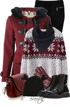 Outfits Ideas de Polyvore para Invierno 18