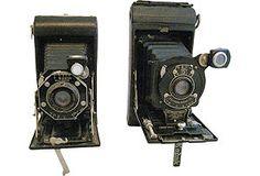 Vintage Cameras, Pair