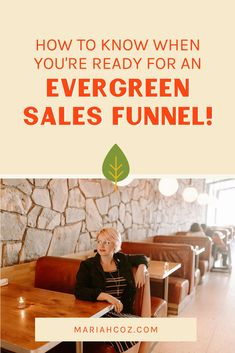 Not sure if you're ready for an evergreen sales funnel? Listen to the podcast and learn more about evergreen sales funnels, passive income, online courses, and launches. For online entrepreneurs and course creators! #entrepreneurship #digitalmarketing #mariahcoz