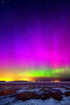This is how I recall the Aurora Borealis appearing in my youth.  So beautiful...