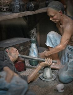 opium dens | Miniature - Opium den diorama - Asian Civilization Museum - Singapore ...