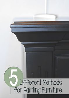 5 Different Methods For Painting Furniture