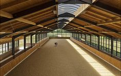 Bourne Hill covered riding arena