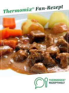 Gulasch - lecker und einfach - - Gulasch – lecker und einfach Thermomix Goulash – delicious and simple from Kochfee Dithmarschen. A Thermomix ® recipe from the main course with meat category www.de, the Thermomix ® community. Meat Recipes, Pasta Recipes, Baking Recipes, Dinner Recipes, Healthy Recipes, Goulash, Vegetable Drinks, Healthy Eating Tips, Clean Eating