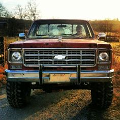 Chevy trucks are such a turn on