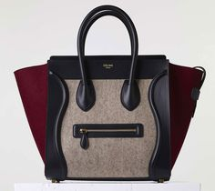 Celine-Mini-Luggage-Tote-Tricolor ~ Fall 2015