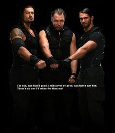 WWE's The Shield recite the Heel Anthem! :)