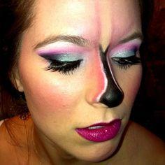flamingo makeup - Sök på Google