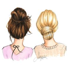 Top knot and low knot
