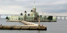 Ilha Fiscal, Museu da Ilha e Propriedade Militar na Cidade do Rio de Janeiro.