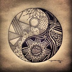"""Résultat de recherche d'images pour """"tatouage soeur ying yang"""""""