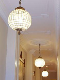 Ceiling Details - Creating an Elegant Ceiling Decor - Inviting Home Ceiling Decor, Ceiling Design, Ceiling Lights, Classic Ceiling, Elegant Chandeliers, Panel Moulding, Inviting Home, Ceiling Detail, Ceiling Medallions