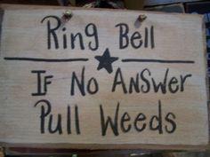 garden sign ;o)
