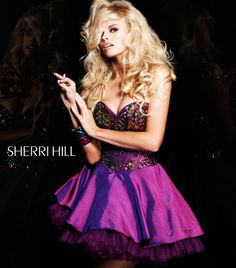 Sherri Hill 2928 [2928] - $160.00 _ Cheap Wedding Dresses,Cheap prom dresses