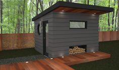 Duchess Modern Shed Design | ReDesign Modern Homes | Architectural ...