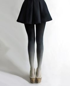 Ombre Tights. I think these are really cool looking even though I would probably never wear them