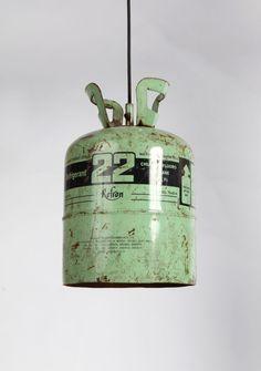 propane tank light - studio zanini