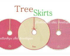 $29 for a Personalized Christmas Tree Skirt (31% off - $42 value)  + 15% off Other Holiday Orders from Flutterbye Chic