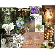 """Into the Woods"" prom theme by yougomaddiecoco on Polyvore featuring interior, interiors, interior design, home, home decor, interior decorating, John-Richard, West Elm, Toast and Olsson"