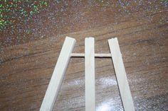 chevalet en bois très facile!