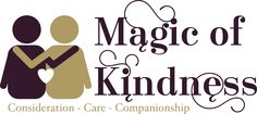 Magic of Kindness logo and icon for Anna Pinkerton