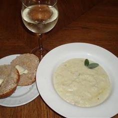 Cream of Cauliflower and Stilton (blue cheese like) Soup Allrecipes ...