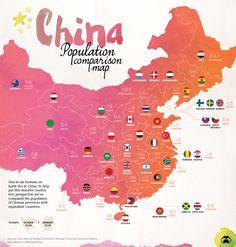 Map: China's Provinc
