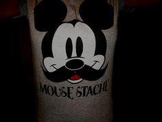 Mickey Mousestache:)